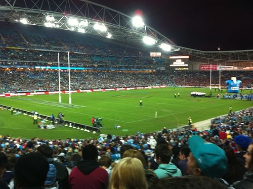 Rugby League with Hillsong Crew